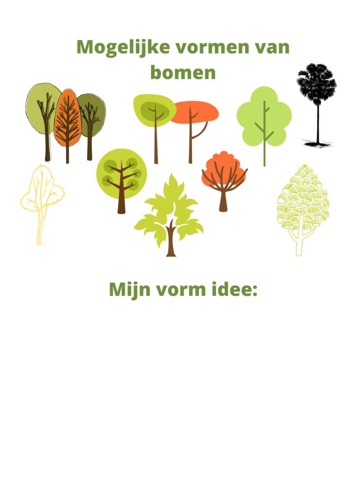 Vormen van bomen