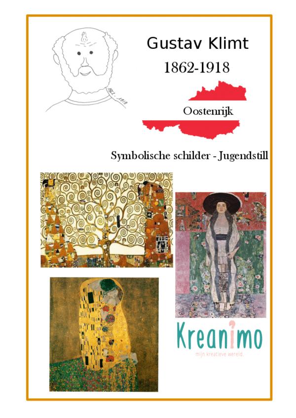 Gustav Klimt - mini biografie