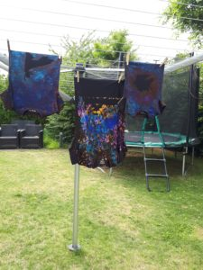 galaxy shirt : 3 op een rij