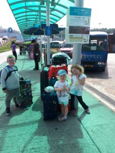 de reis naar Macau