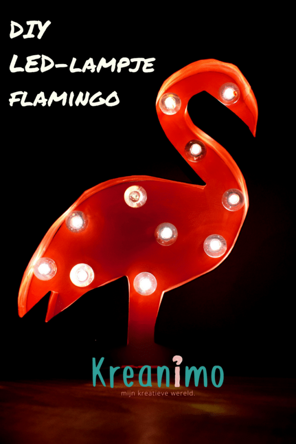 LED-lampje flamingo