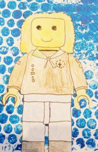 Lego zelfportret