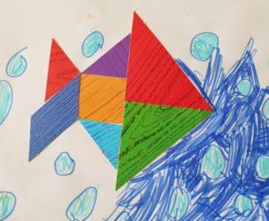 knutsel tangram