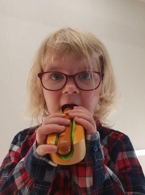 Speeleten van Hape - hotdog