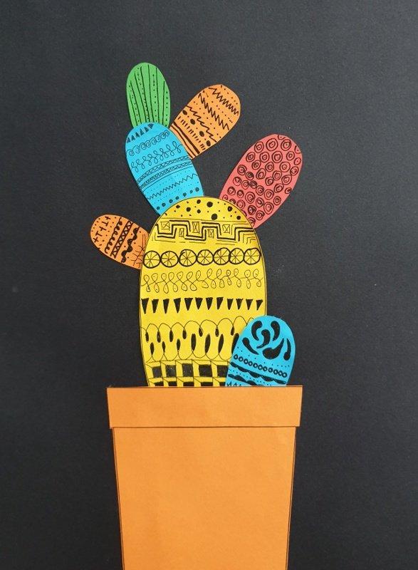 cactus knutselen