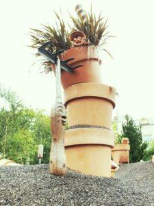 bloempot speeltuin in Nantes