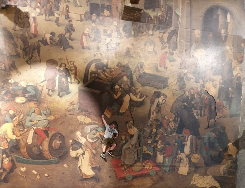 Tableau vivant De wereld van Bruegel