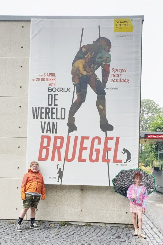 De wereld van Bruegel - bruegel game in Bokrijk