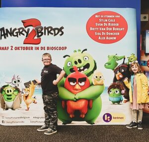 Angry birds 2 première
