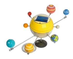 zonnestelsel op zonne-energie